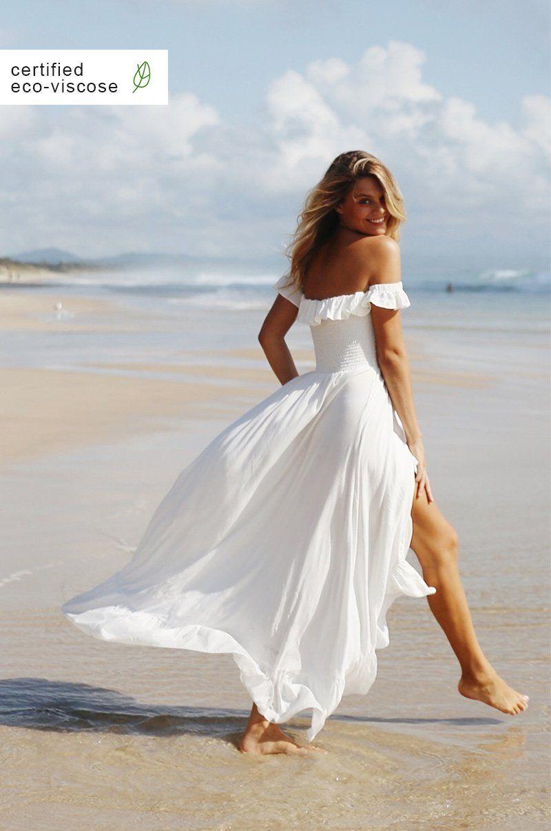 Rove Dress White Maxi Dresses Dresses Summer Dresses [ 1205 x 800 Pixel ]