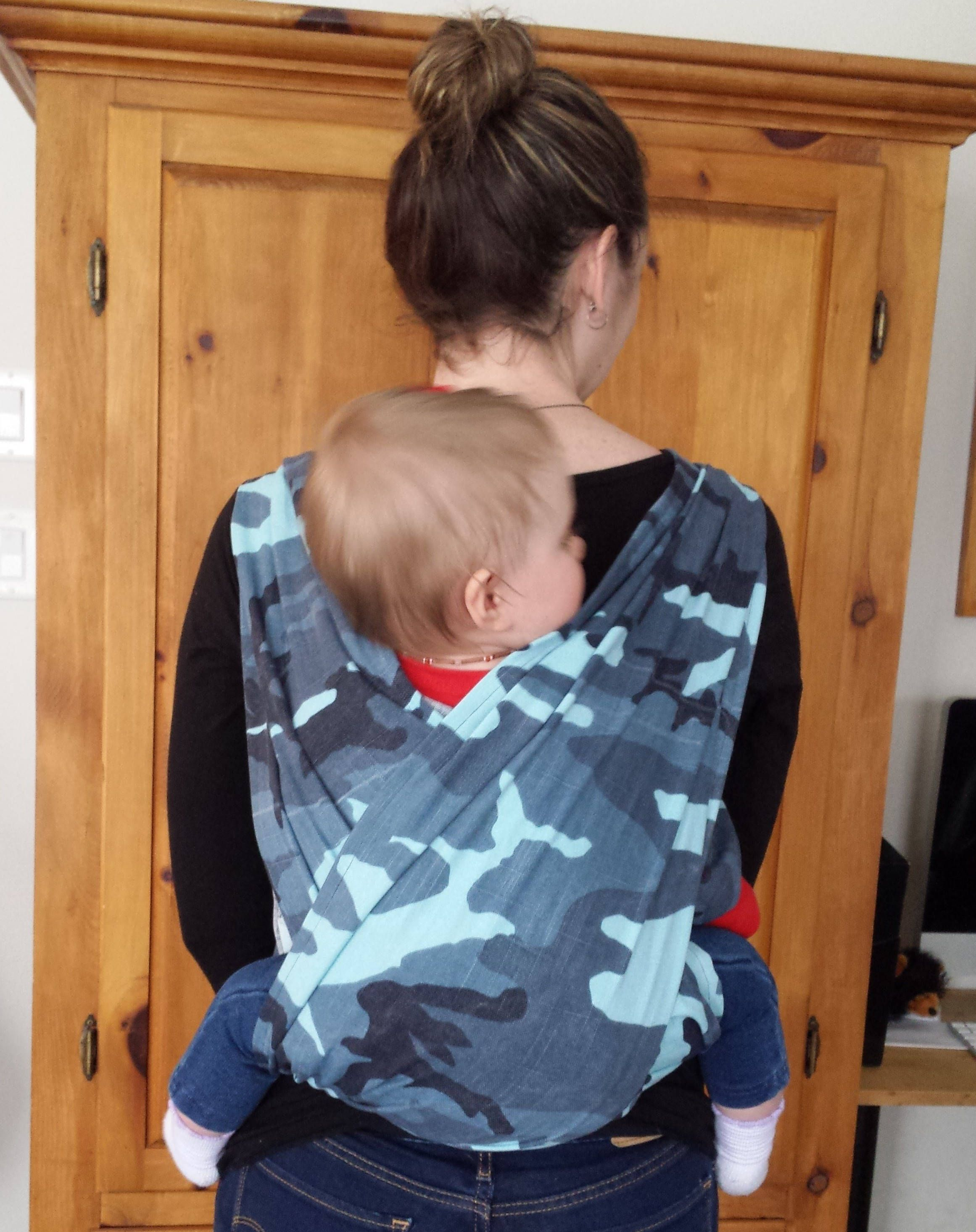 Baby Wrap Easy Woven Wrap Father S Day Hybrid Baby Carrier
