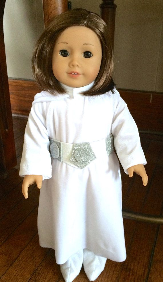 Star Wars Costume - Princess Leia parody for 18 inch doll | dolly ...