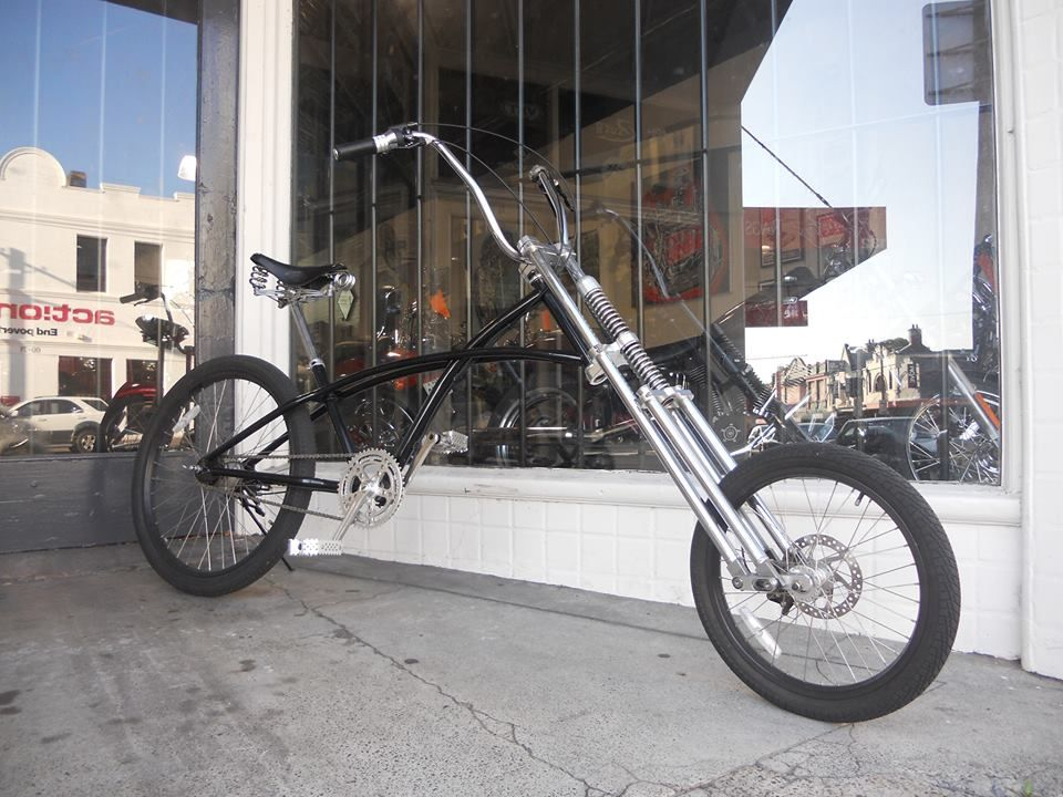 The Beast Is A Very Customised Phat Cycles Whopper Chopper It