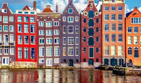 تعرف على أفضل طرق قضاء العطلات في أمستردام Amsterdam Houses Visit Amsterdam Amsterdam Travel