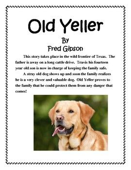 old yeller book report and lapbook students old yeller book report and lapbook