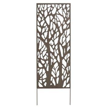 treillis fixer ou planter jardin cloture maison pinterest treillis deco gris et palissade. Black Bedroom Furniture Sets. Home Design Ideas