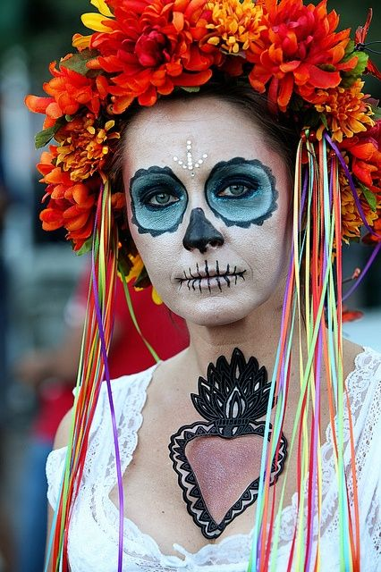 Day Of The Dead All Souls Procession All Souls Souls Inspiration Ghost Bride