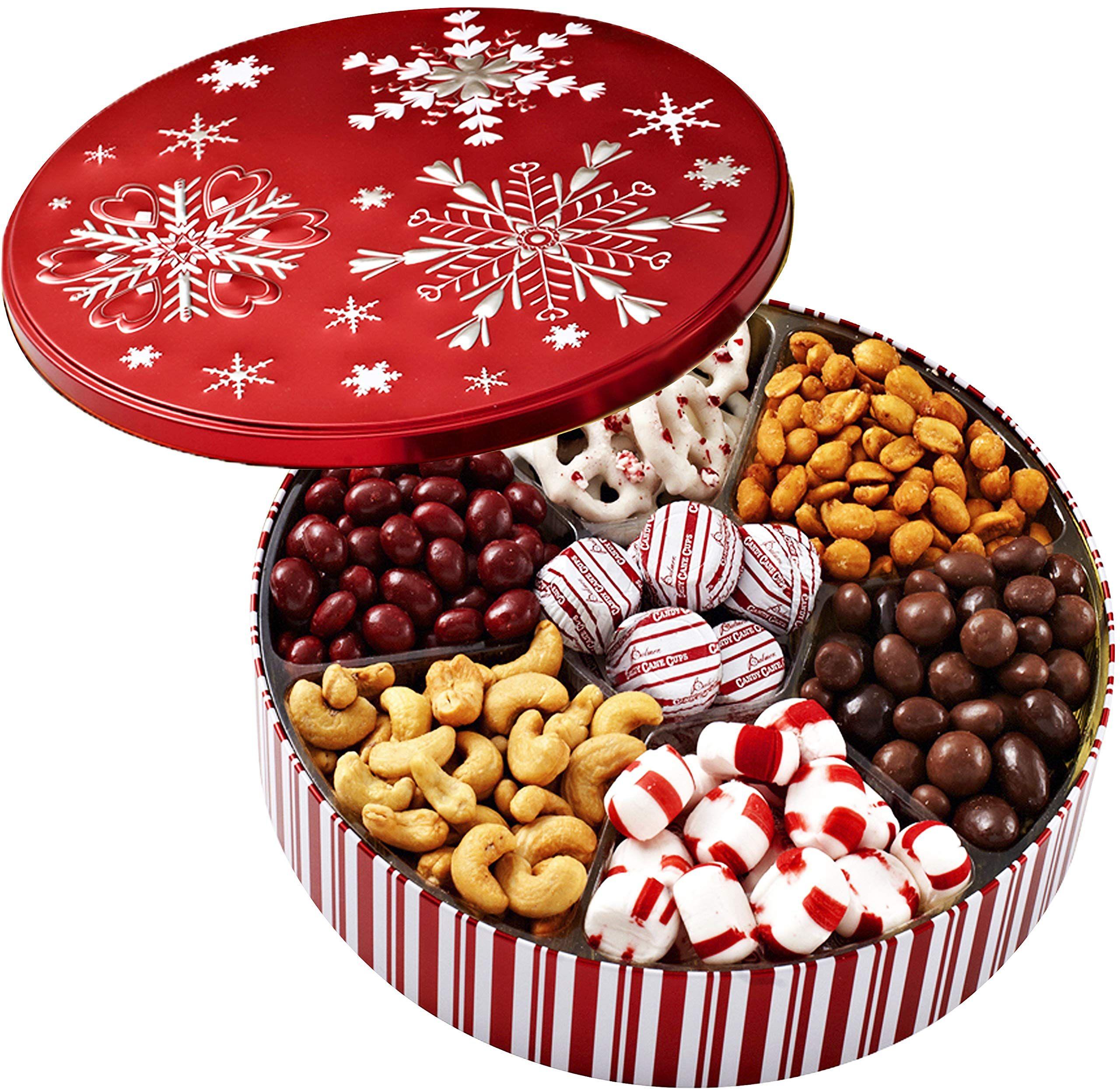 Christmas Holiday Chocolate Gift Basket Gourmet Food