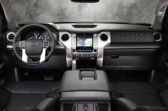 Elegant 2015 Toyota Tundra Interior