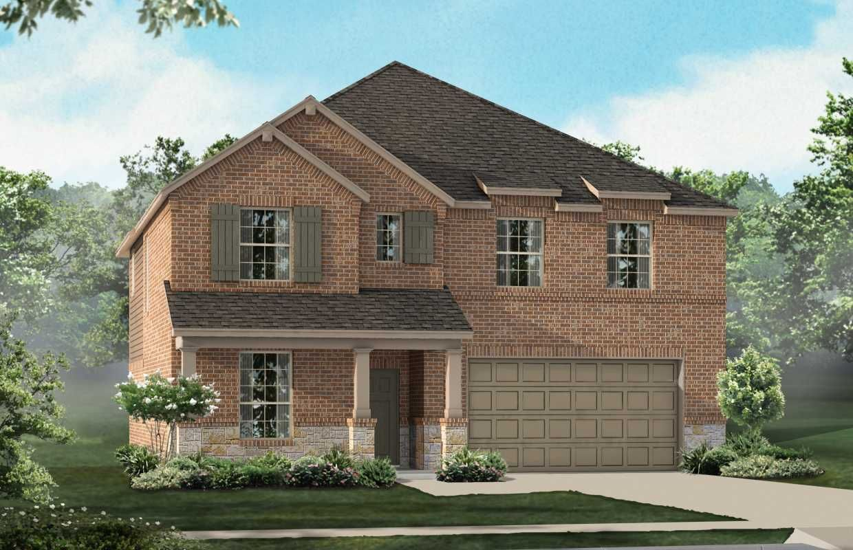 New Home munity Information Clements Ranch Forney Texas