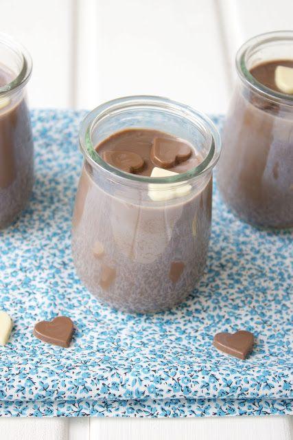 Vasitos de chocolate {petits pots sin huevo}