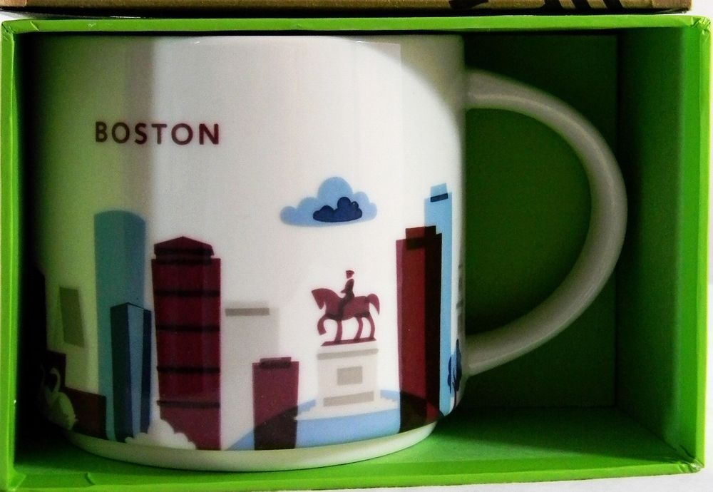 Starbucks Mug Boston You Are Here City Collectible #Coffee ...