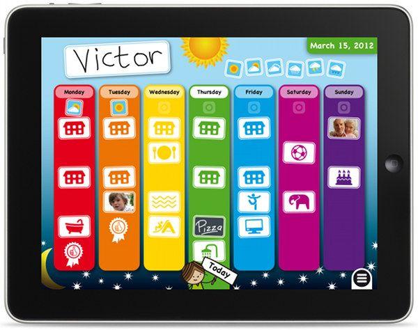 Calendar Planner App : Organise them with week planner for kids ipad app