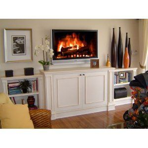 Fireplace Dvd Real Wood Burning Fire Anamorphic Fullscreen