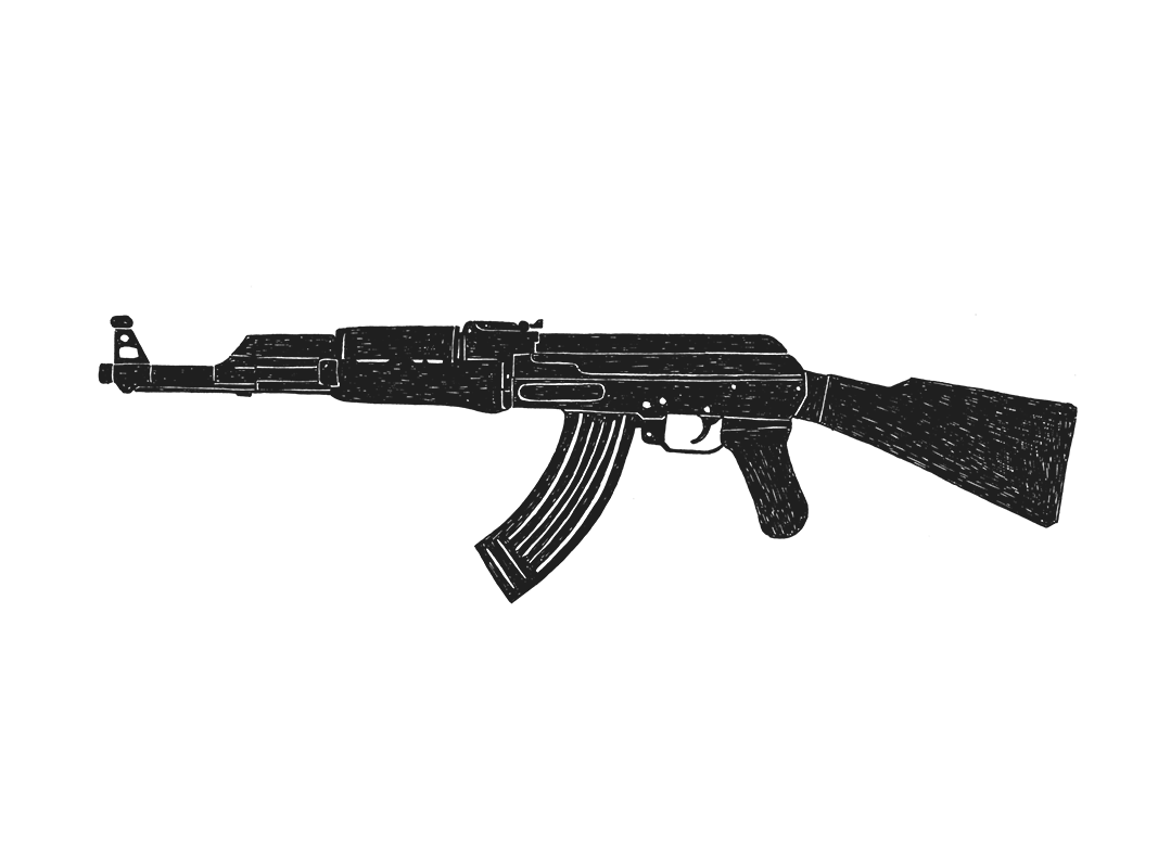 This is a graphic of Effortless Drawing Of Ak 47
