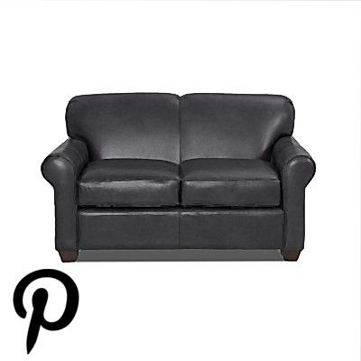 Wayfair Custom Upholstery Jennifer Leather Loveseat