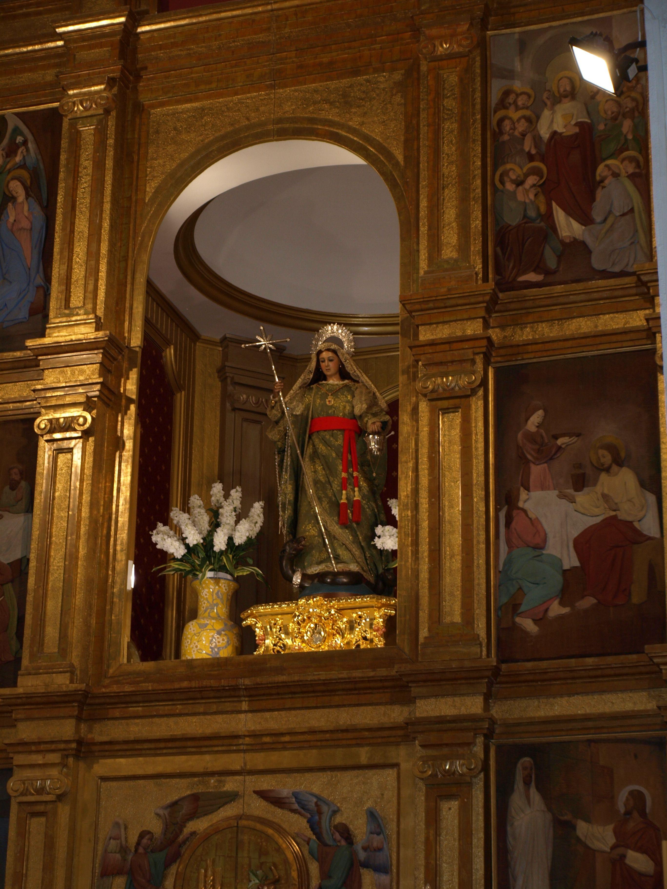 imagen de Santa Marta, patrona de Martos