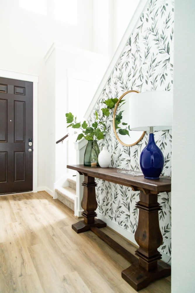 DIY entryway makeover using only items from The