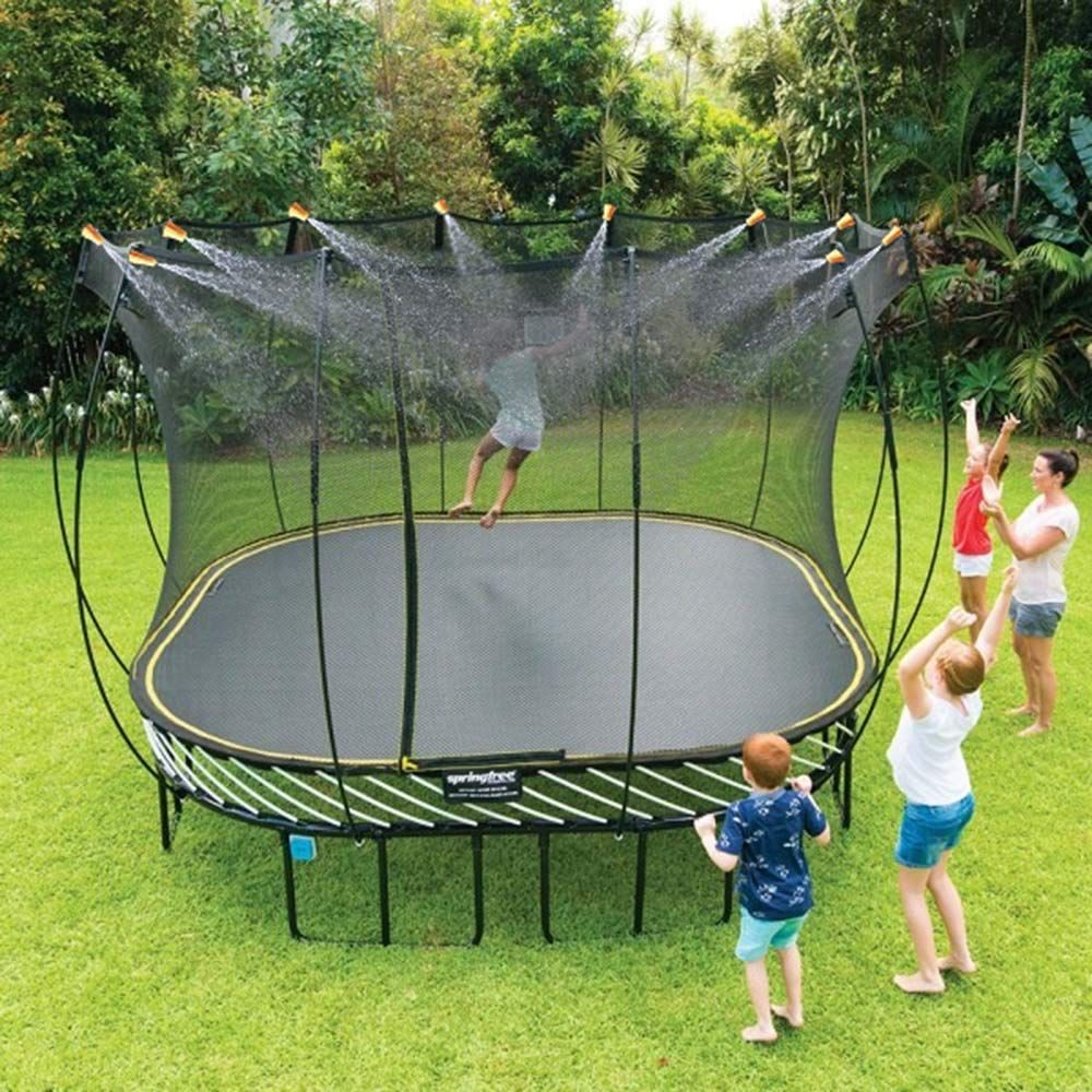 Image result for Bury Your Trampoline in the Garden - How To""
