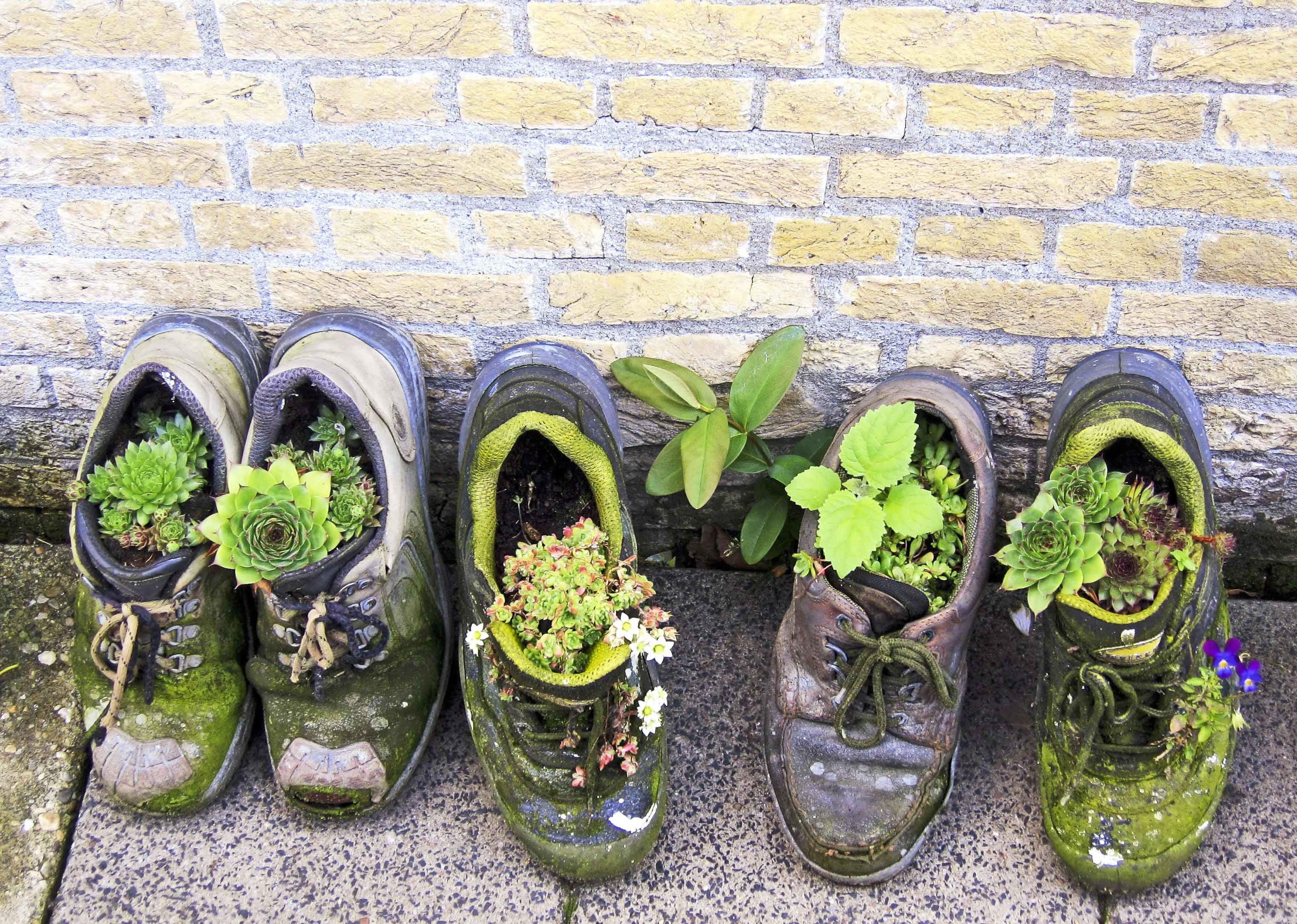 Idee creative per riciclare le scarpe vecchie http www - Idee per riciclare ...