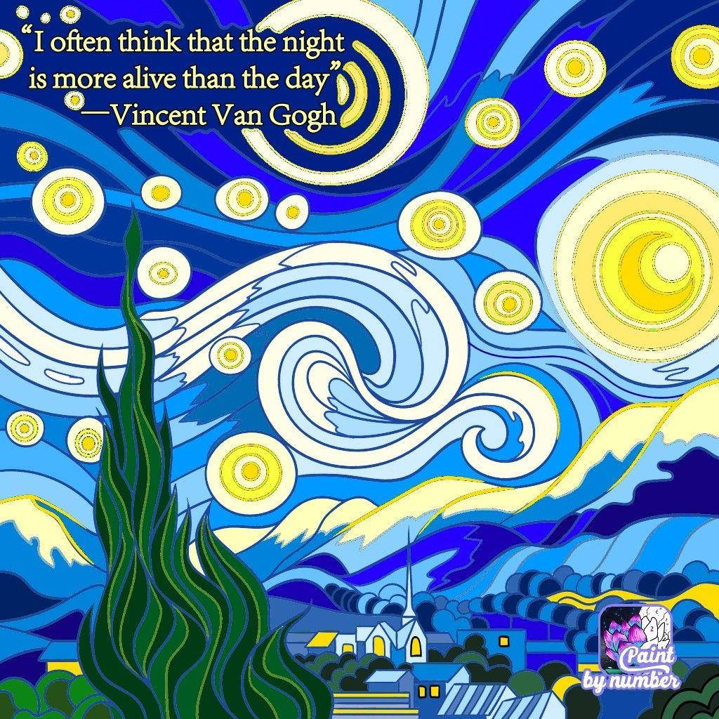 La Notte Stellata Vicent Van Gogh Van Gogh Notte Stellata Arte