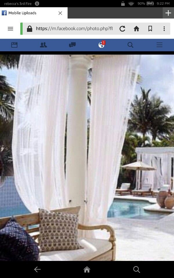 Ideas For Sun Blockage On Gazebo Relaxation Room Beautiful