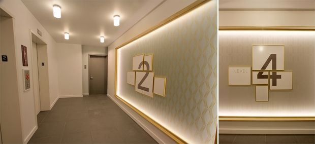Apartment Building Lobby Design Ideas the addy apartments | elevator lobby designvida design - www