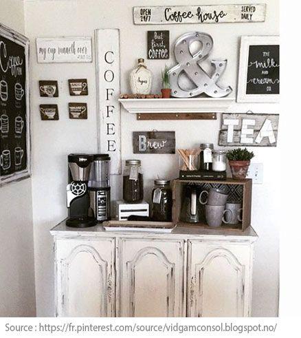 10 Idees Pour Creer Un Coin The Ou Cafe A La Maison 4 Bar