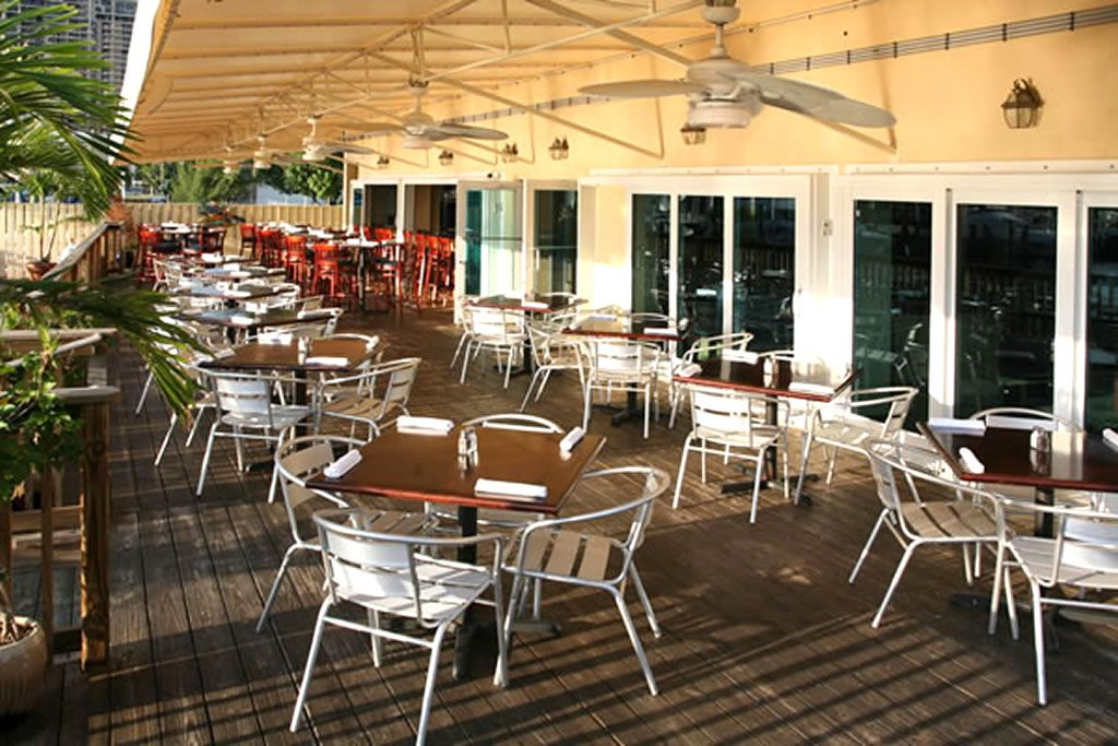 Marvelous Great Tropical Outdoor Restaurant Setting With Chairs Similar To BFM Seating  Parma Aluminum Outdoor Restaurant Arm