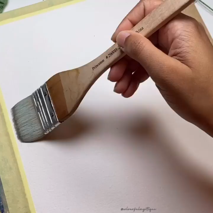 WATERCOLOR TUTORIAL: How To Paint A Painting With