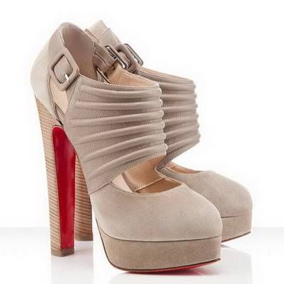#Christian Louboutin Bye Bye 160mm Pumps Beige Outlet