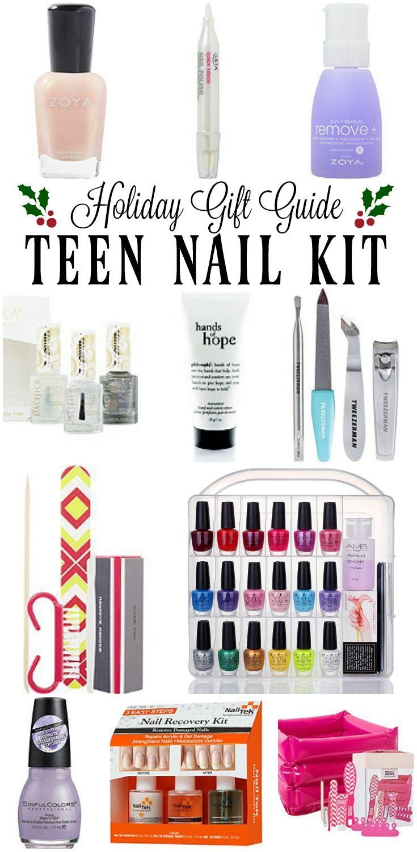 2017 Teen Nail Kit Stocking Stuffer Ideas - Teen Girl Nail Gift Guide