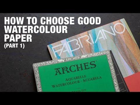 Comparatif Papier Test Watercolor Watercolor Paper