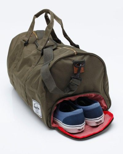 Gym Bag Herschel: Need Supply Co. / Herschel Supply Co. / Novel Olive/Olive