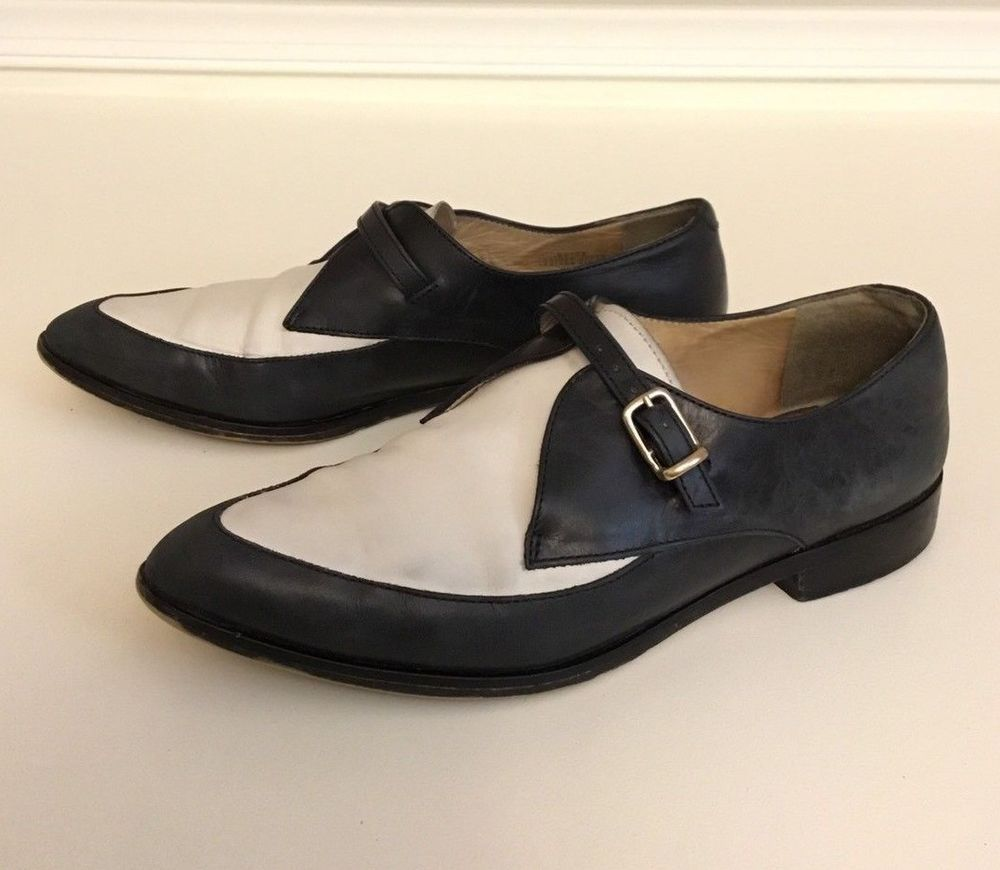 04dd3dd4af2 J Crew Womens Dress Shoes Steampunk Two Tone Loafers Leather Monk Strap  Oxford 6