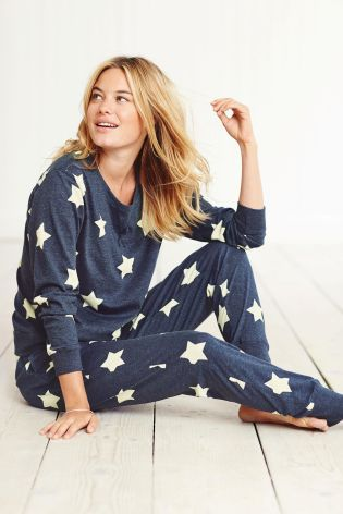 Buy Navy Star Pyjamas from the Next UK online shop OR grey - size small. b486e282364