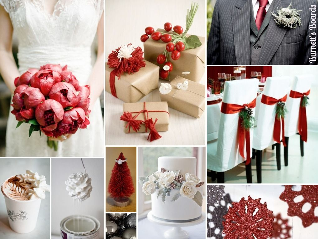 Resultat d'imatges de wedding at christmas ideas