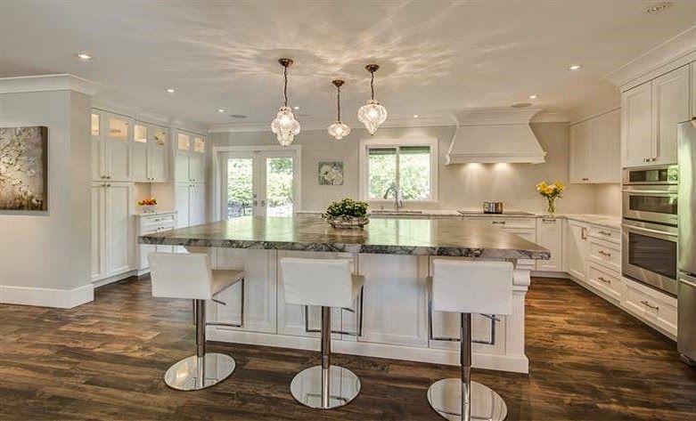Nuevos espacios para una cocina clásica - Cocinas con estilo