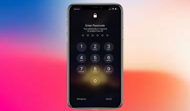 How to get keyboard passcode on iphone x ios 11 iphone usb