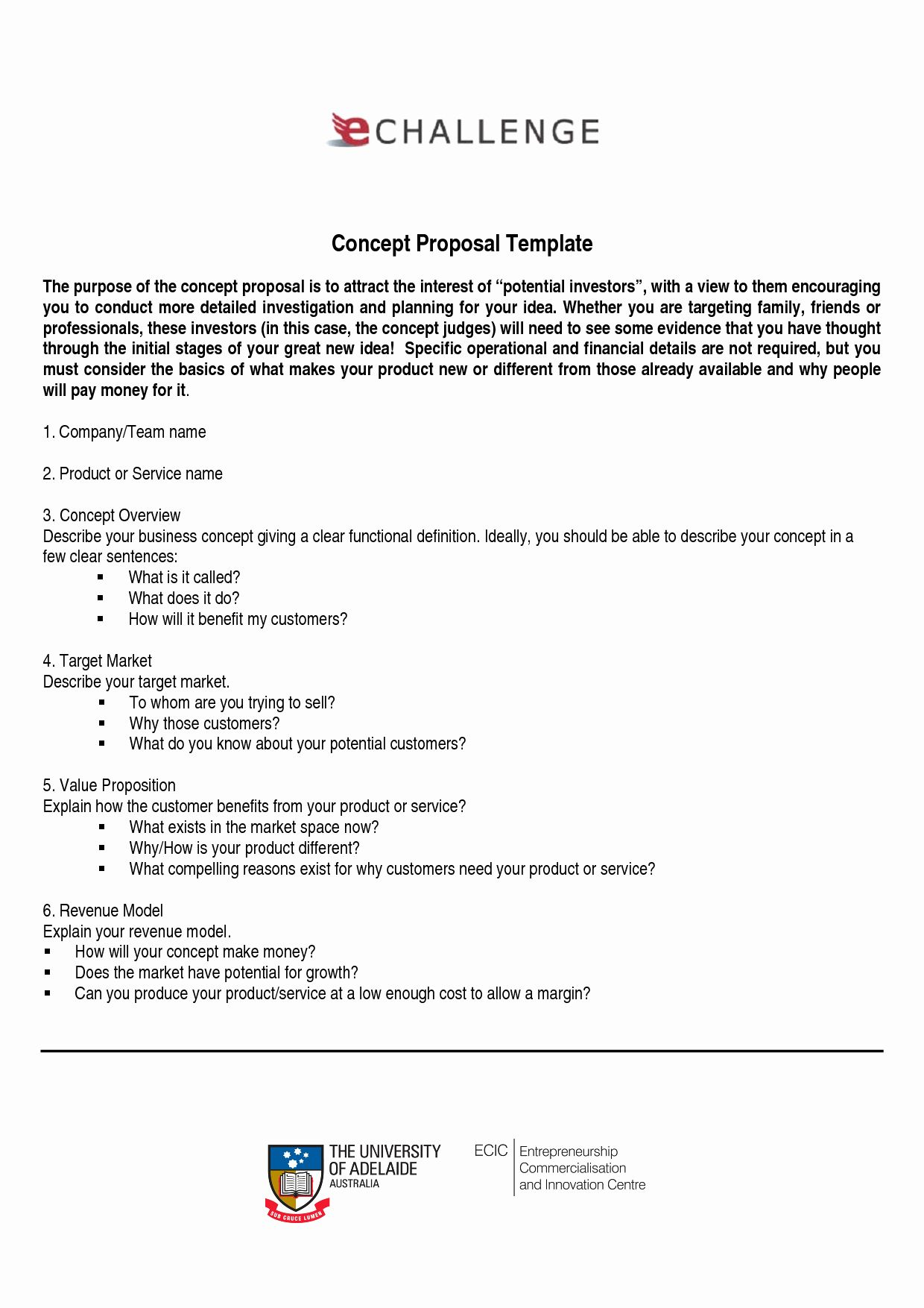 Template for A Proposal Best Of Business Proposal Template