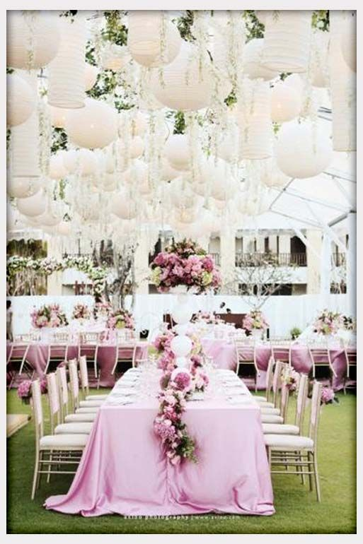 Pink Garden Wedding Theme Wedding Inspiration In 48 Pinterest Interesting Garden Wedding Ideas Decorations