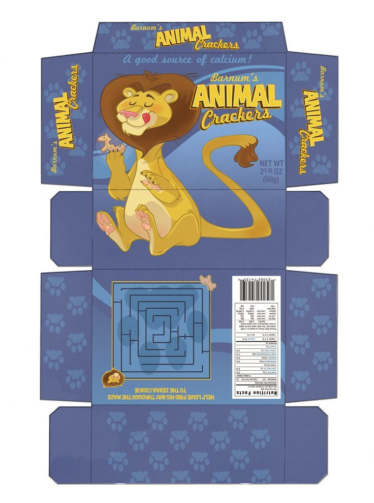 Image Result For Cracker Box Template Doll Printable Animal Crackers Box Template Vintage Packaging
