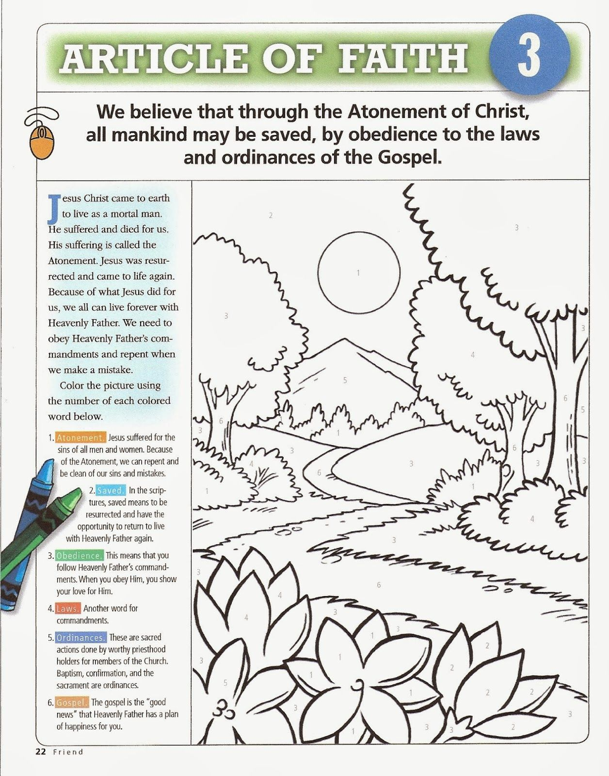 Primary 5 Manual Lesson 36 Joseph Smith Writes The