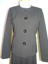 Chico's Womens Career Black Jacket Fully Lined SZ 0, US 4/6