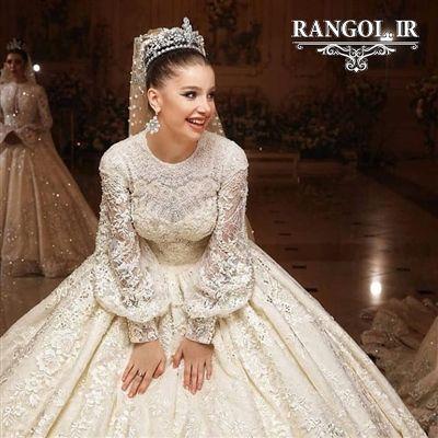 110 مدل لباس عروس زیبا و شیک | ژورنال لباس عروس جد