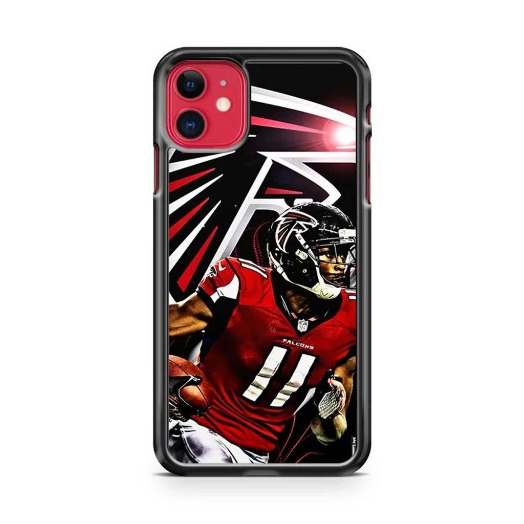 Nfl Atlanta Falcons Julio Jones Iphone 11 11 Pro 11 Pro Max Case Atlanta Falcons Iphone 11 Iphone Cases