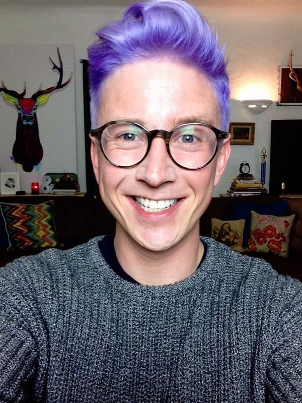Pin by Elias Quinn~ on youtubers | Purple hair, Fresh hair ...