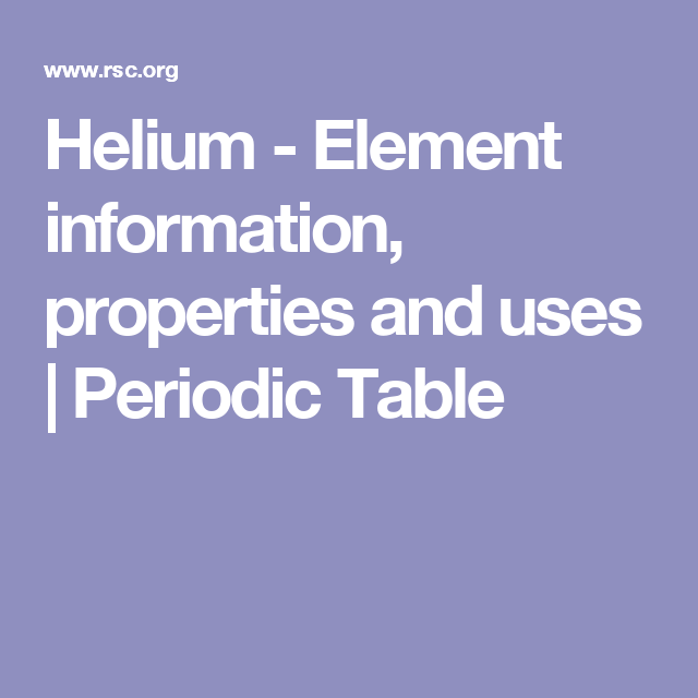 Helium element information properties and uses periodic table helium element information properties and uses periodic table urtaz Choice Image