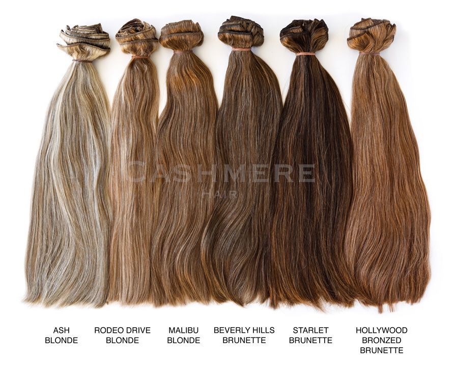 Hair Extension Color Chart Cashmere Hair Clip In Extensions www - hair color chart