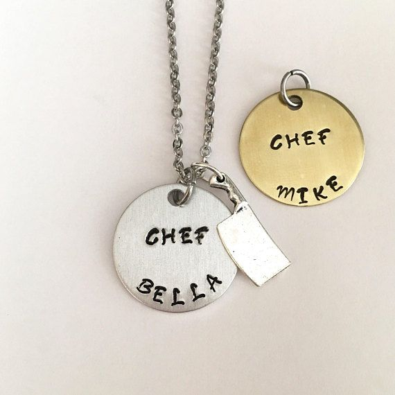Chefs Necklace Christmas Presents Gifts For Her Chef Cheflife Cooks