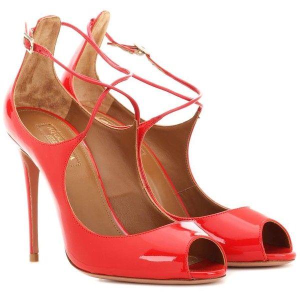 Pumps & High Heels for Women On Sale, Black, Patent Leather, 2017, 3.5 Aquazzura