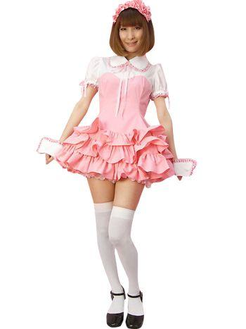 Shorts maid asian cute