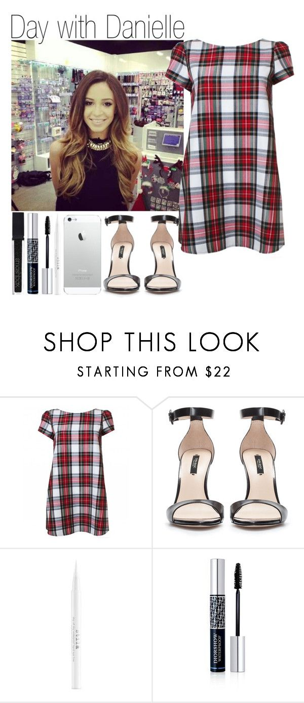 """""""Day with Danielle"""" by elise-22 ❤ liked on Polyvore featuring Zara, Stila, Christian Dior, Smashbox, day and daniellepeazer"""